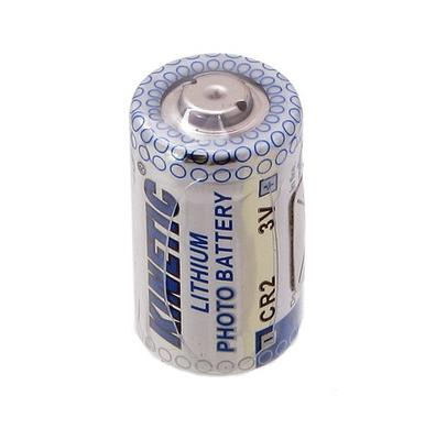 Bateria; litowa; CR2; 3V; 750mAh; fi 15,2x26mm; Kinetic; CR2