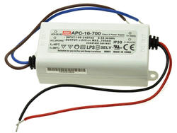 Zasilacz; do LED; APC-16-700; 9÷24V DC; 700mA; 16,8W; stałoprądowy; IP30; Mean Well