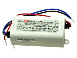Zasilacz; do LED; APC-12-700; 9÷18V DC; 700mA; 12,6W; stałoprądowy; IP30; Mean Well