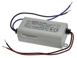 Zasilacz; do LED; APC-16-350; 12÷48V DC; 350mA; 16,8W; stałoprądowy; Mean Well