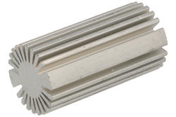 Radiator; FL42-4/5; do diod LED; naturalny; 50mm; walec; 13,4/25,4mm; RoHS