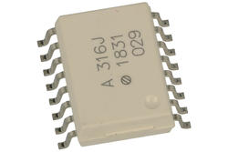 Transoptor; HCPL-316J-000E; DIP08smd; powierzchniowy (SMD); 3,75kV; Avago; RoHS