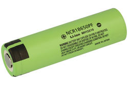 Akumulator; Li-Ion; NCR18650PF; 3,6V; 2900mAh; 18,6x65,2mm; Panasonic